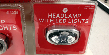 headlamp1 Gift idea for a runner: The $5 headlamp